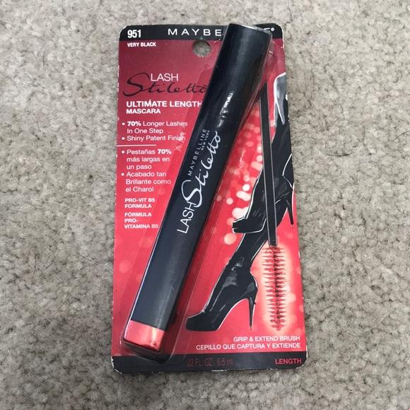 3b37493e8d2 Maybelline Makeup | New Lash Stiletto Very Black Mascara | Poshmark